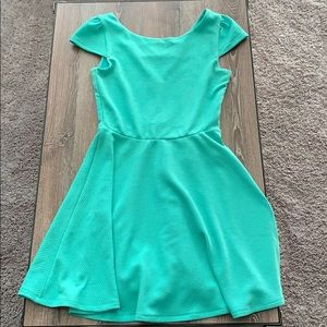 mint green honey and rosie dress